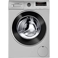 Bosch 8 Kg Inverter Fully-Automatic Front Loading Washing Machine (WAJ28262IN, Silver)