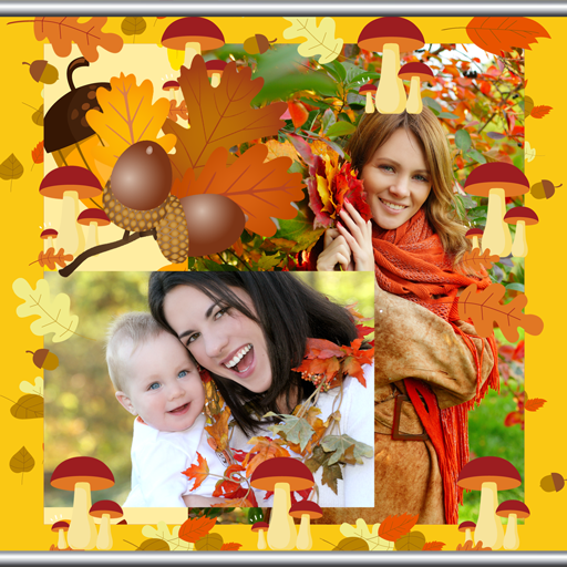 Herbst-Foto-Collage