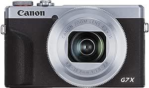 Canon Powershot G7 X Mark Iii Silver Kamera