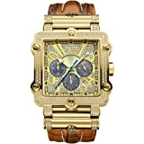 ساعة فانتوم كرونوغراف فاخرة مرصعة بـ238 ماسة للرجال من جيه بي دبليو