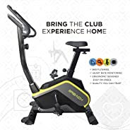 Reach B-400 Magnetic Exercise Fitness Cycle (Multi-Color)