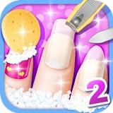 Princess Nail Salon - girls games