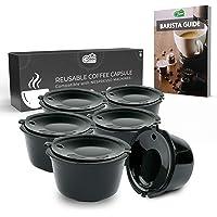 Green BEANS Capsule à café en plastique réutilisable avec filtre en acier inoxydable pour les cafetières DOLCE GUSTO Lot…