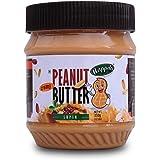Happilo Super Creamy Peanut Butter (High Protein, Non-GMO, Gluten Free, Vegan) Bottle, 350 g