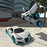 Flying Car Robot Flight Drive Simulator Game 2017