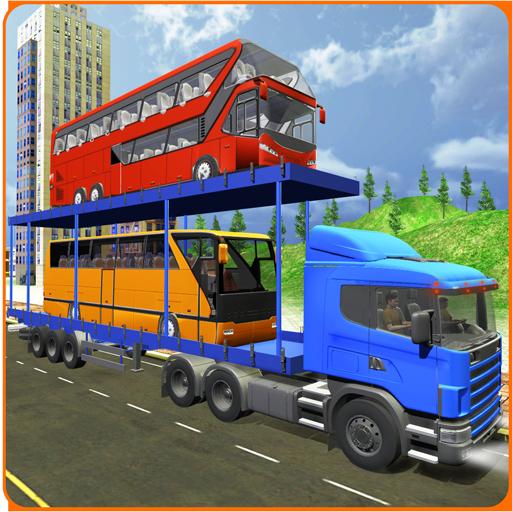 USA Bustransporter LKW Simulator 3D 2017 Transformatoren Stadt