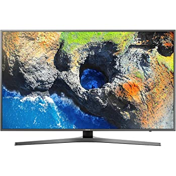 "Samsung Serie MU6470 Smart TV da 49"", Cristallo Attivo, con Supreme UHD Dimming e Telecomando Smart Remote Premium, Titanio Scuro - Esclusiva Amazon.it"