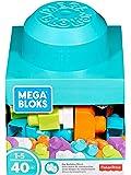 Mega Bloks Mon Bloc Imagination, briques et jeu de construction, 40 pièces, jouet pour bébé et enfant de 1 à 5 ans, FRX19
