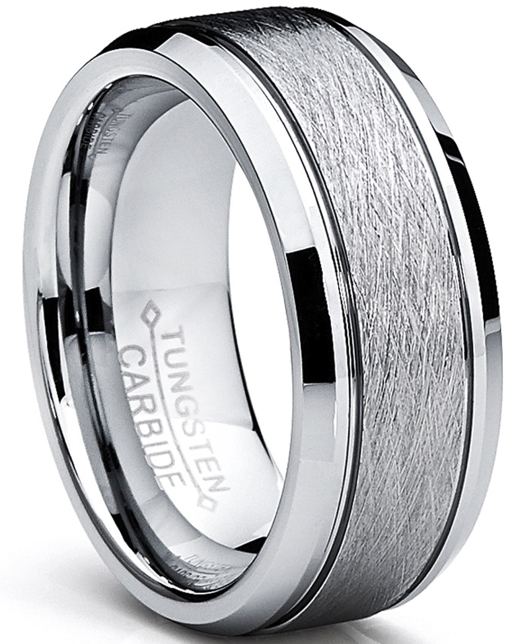Bague de Mariage Plaqu/é Or Titane Pour Homme Int/érieur Confort 8mm Ultimate Metals Co