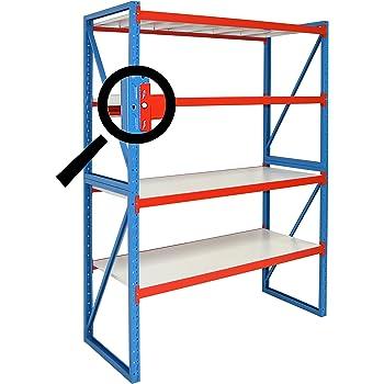 profi steckregal f r zuhause 172 cm h he anbauregal tiefe 40 cm breite 80 cm. Black Bedroom Furniture Sets. Home Design Ideas