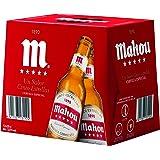 Mahou 5 Estrellas Cerveza Dorada Lager, 12 x 25cl