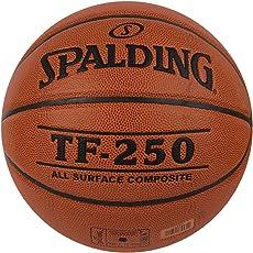 Spalding TF-250 Basketball, Size 7 (Brick)