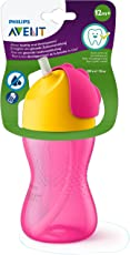Philips Avent Straw Cup, 10oz (Pink)