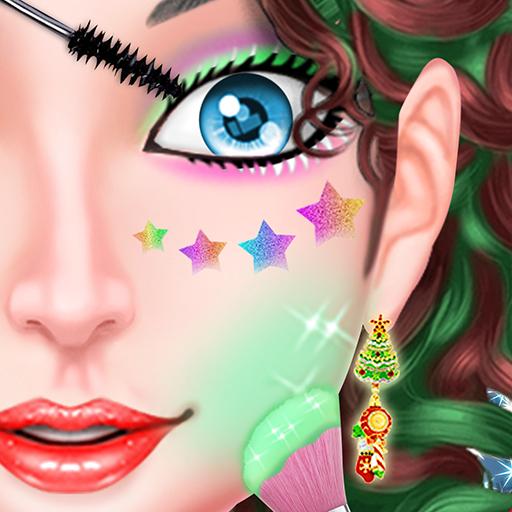 Naughty Girl Merry Christmas Makeup And Dressup