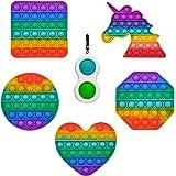 GreenBee Pop It Fidget Toy Anti Stress Enfant et Adulte - Fidget Toys Pack Objet Anti Stress Anxiété - Popit Jeux Push Pop Bu