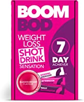Boombod Weight Loss Shot Drink, Glucomannan, High Potency, Diet & Exercise Enhancement, Promote Fat Loss, Keto &...