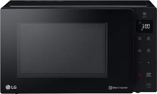 Mikrowelle 1000/W Grill 900/W und 25/L Fassungsverm/ögen Schwarz LG mh6535gds Mikrowelle Grill Smart Inverter