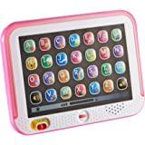 Fisher-Price Laugh & Learn Smart Stages Tablet - Pink, Electronic Learning Toy with Music
