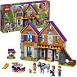 LEGO 41369 Friends Mia's House Set, 3 mini-dolls Rabbit and Horse Figures, Build and Play Dollhouse Toys for Kids, Multi…
