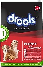 Drools 100% Vegetarian Puppy Dog Food, 3kg