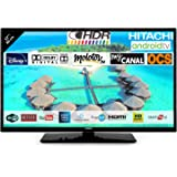 "Hitachi 32FK5HAE2252 Téléviseur LED 32"" 80,01cm HD avec Alexa Android Smart TV: Netflix, Youtube, Prime/WiFi / 3 HDMI / 2 USB"