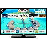 "Hitachi 32FK5HAE2252 Téléviseur LED 32"" 80,01cm HD avec Alexa Android Smart TV: Netflix, Youtube, Prime/WiFi / 3 HDMI…"