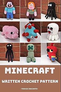 Minecraft Steve vs Zombie | Patrones amigurumi, Amigurumi patrones ... | 320x214