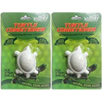 Foodie Puppies Taiyo Pluss Discovery Turtle Conditioner Premium Turtle Food for Strong Shells (Pack of 2) with Free Key Ring