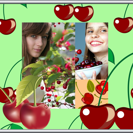 Kirschfoto Collage