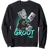 Marvel Guardians Vol. 2 Baby Groot Neon Tape Sweatshirt