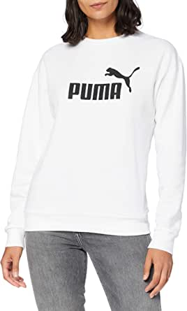 PUMA Essentials Crew Neck F Felpa Donna