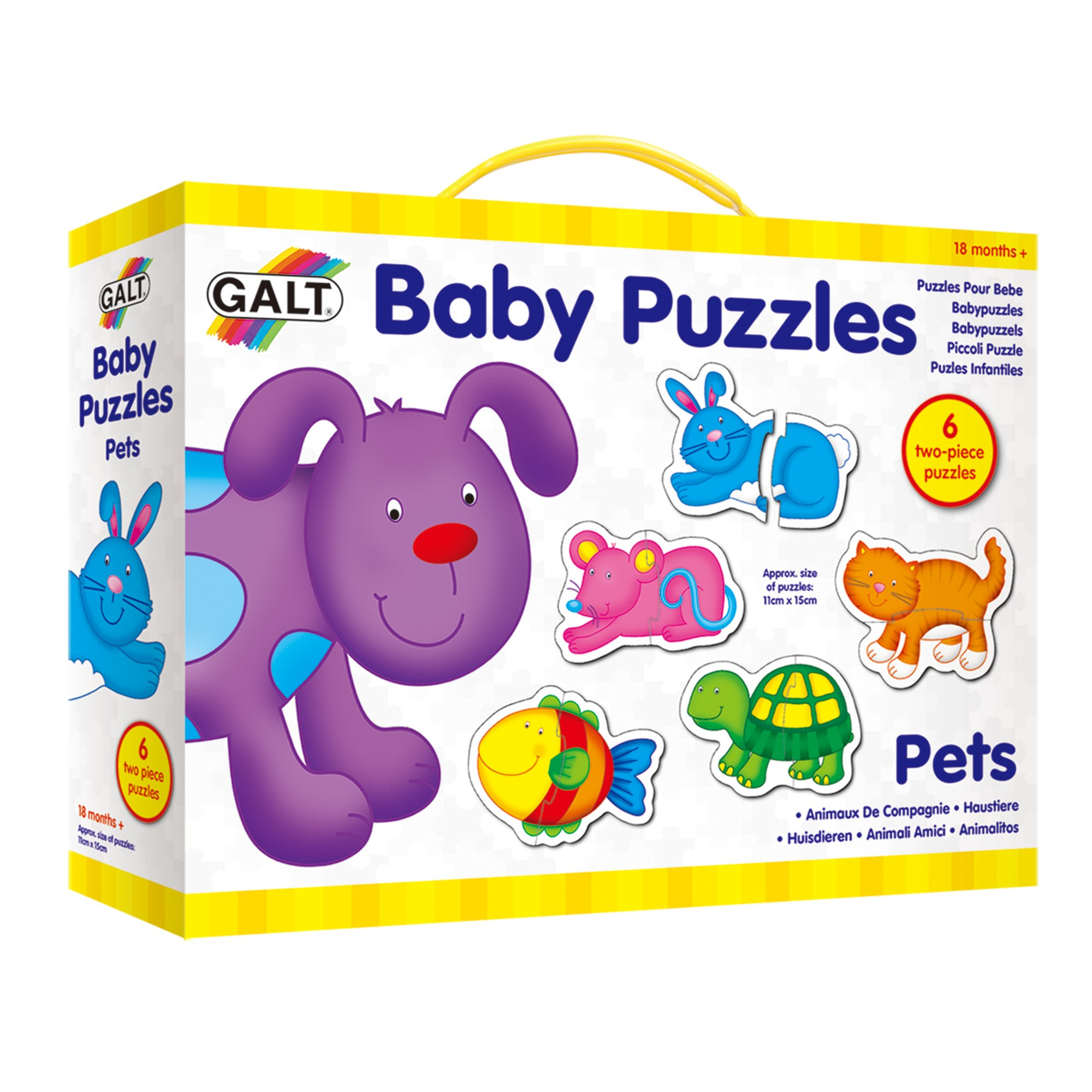 Genuine GALT BABY PUZZLE PETS Baby Child Foam Educational Toys