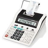 Citizen CX123N Calcolatrice Scrivente da Tavolo, Bianco/Nero