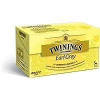 Twinings Earl Grey Tea Classics Sapore di Bergamotto, 25 Bustine