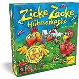 noris Zoch Zicke Zacke Hühnerkacke - Juego de Tablero (297 x 72 x 295 mm, 29,7 cm, 7,2 cm) (versión en alemán)