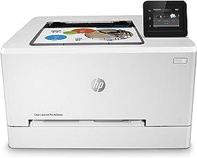 HP Color LaserJet Pro M254dw Farblaserdrucker (Laserdrucker, WLAN, LAN, Duplex, Airprint) weiß