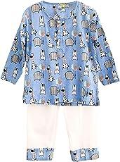 Frangipani Unisex Cotton Party Animal Pyjama Set