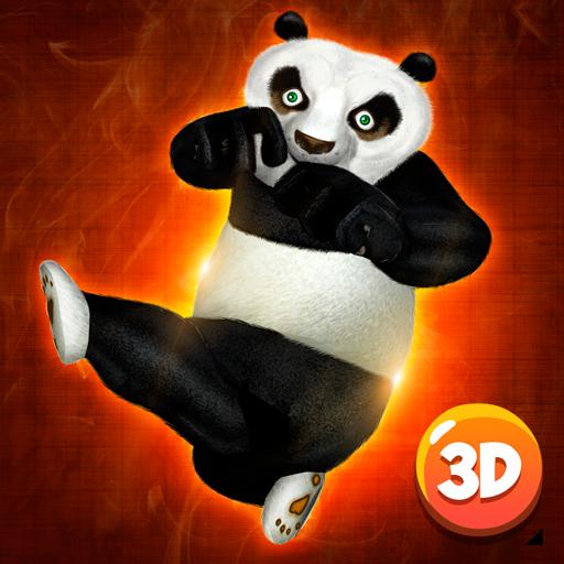 Ninja Panda Fighting 3D (Tigress Master)