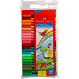 Faber-Castell Connector Pen Set - Pack of 50 (Assorted)