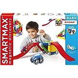 SmartMax - SMX 502 - Basic Stunt - Riesenmagnete Bahn und Bauset, 46 Teile