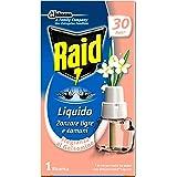Raid Liquido Elettrico Ricarica, Antizanzare Tigre e Comuni, Confezione da 1 Ricarica 21 ml, 30 Notti, Profumazione Gelsomino