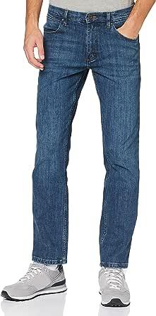Wrangler Men's Straight Jeans, Authentic Blue, 34 W/30 L