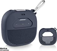 Feature Protective Case for Bose SoundLink Micro Bluetooth Speaker by WGear, Featured Design with mesh Pocket for Cable and