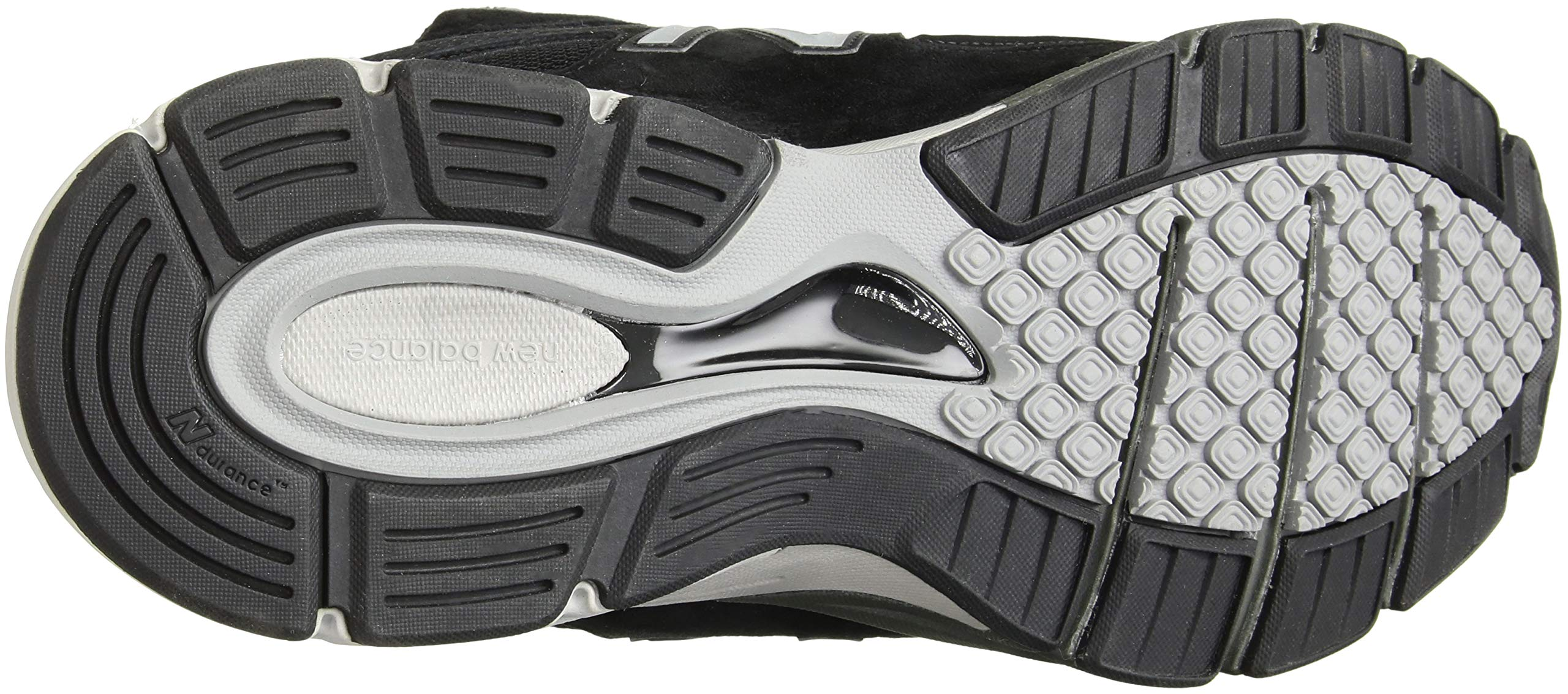 819HPakyumL - New Balance Mens M990 990v4 Black Size: 7.5 Wide