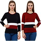 Reifica Women's T-Shirt(Pack of 2)