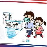 Infantiles- 50 Mascarillas quirúrgicas para niños - homologadas- Desechables de 3 capas - Certificado CE - Tipo II- 3 capas -