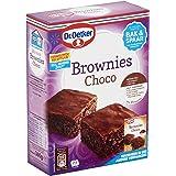 Dr.Oetker Chocolade brownies met bakvorm - bakmix voor 6 porties (360 g)