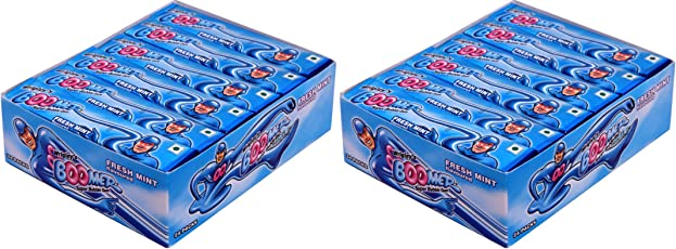 Wrigley Boomer Multipack, Fresh Mint (48 Pieces)