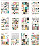Simple Stories 7956 Carpe Diem Good Vibes Mini Stickers, Multi-Colour