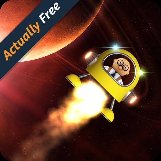 Lander Hero: Classic Lunar Landing Physics Games in Deep Space